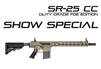 SR-25 E2 ACC 16 Light Profile Barrel URX 4 M-LOK, FDE