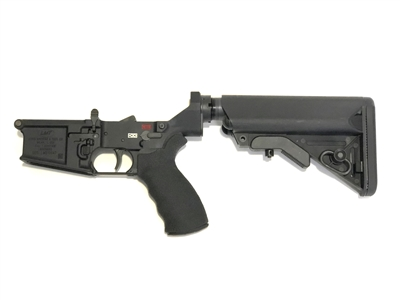 LMT LM308MWS Lower Receiver with Collapsible Stock and Trigger