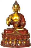 The Buddha Brass Statue - 38 Inch