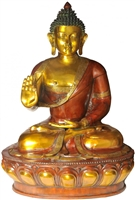 The Buddha Brass Statue - 48 Inch