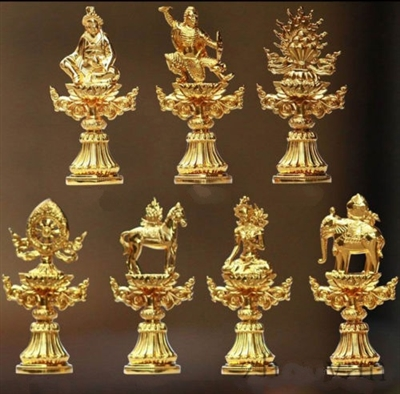 7 Precious Emblems of Dharma Royalty