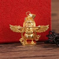 Gold Plated Copper Gardua Pendant