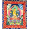 Manjushri Brocade Hand Painted Thangka
