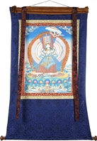 Sitapatara Hand Painted Thangka 52 inch SHIPS FREE WORLD WIDE