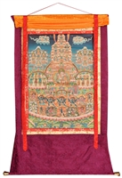 Guru Rinpoche & Refuge Tree 58 inch SHIPS FREE WORLD WIDE