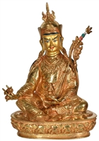Guru Rinpoche 24 Carat Gilded 13.5 inches Ships Free World Wide