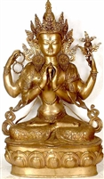 Chenrezig  Statue - 38.4 Inches  FREE SHIPPING WORLDWIDE