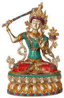 Manjushri Statue 14 Inches SHIPS FREE WORLD WIDE