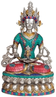 Amitayus Statue 14 Inches SHIPS FREE WORLD WIDE