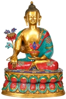 Medicine Buddha Statue 36 Inches SHIPS FREE WORLD WIDE