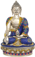 Medicine Buddha Lapis Statue  Inches SHIPS FREE WORLD WIDE