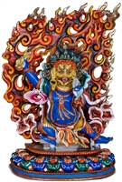 Vajrapani 24 Carat Gilded 7.7 Inch Ships Free World Wide
