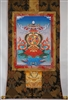 8 Auspicious Symbols Brocaded Thangka 50 inches