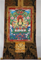 Cundi  Brocaded Thangka 50 inches