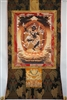 Black Dakini Throma Nagmo Brocaded Thangka