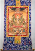 Large Chenrezig Thangka 50 inches