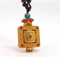 Gold Plated Mandala Gau