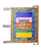 Large Sitatapatra Prayer Flag 3 Feet
