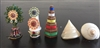 Small Food, Flower, Incense, and Conch Shell Torma Set Chose Shell