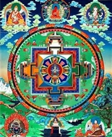 Mandala of ChenrezigThangka 32 Inches