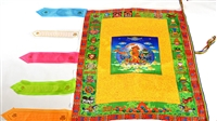 Large Manjushri Prayer Flag 3 Feet