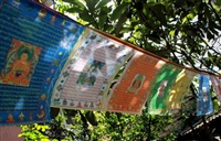 10  Deity Prayer Flag Set