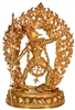 Varjayogini 24 Carat Gilded Copper Statue 14.5 Inch Ships Free World Wide