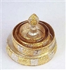 Gold & Silver Plated Mandala Set with Stand