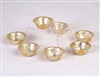 Gold and Silver Plated Offering Bowls 3.25 inches