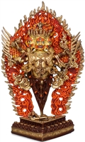Vajrakilya 24 Carat Copper Gilded Statue 11 inches Ships Free World Wide