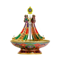 Five Varja / Kalchakra Destroying Incense Burner