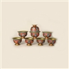 Chenrezig Pacifying Offering Bowls