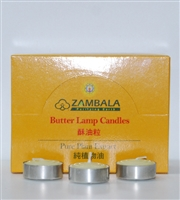 3 Hour 100% Pure Plant Extract Butter Lamp Candles