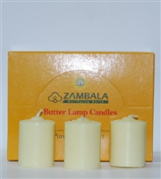 8 Hour 100% Pure Plant Extract Butter Lamp Candles