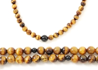 Tiger Eye  Mala / Bracelet - 108 Beads 6mm