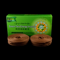 Blessed Green Tara  24 - 4 Hours Coil Incense
