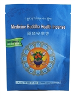 Organic Blessed Medicine Buddha Healing Incense