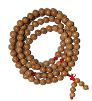 Dragon Eye Bodhi  Seed Mala - 108 Beads
