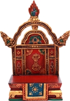 Deity Throne for Statue or Treasure Vase