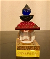 Rare Great Casket Seal Dharani of Namgyalma Stupa or Feng-Shui Crystal Stupa 2 Size Choices