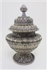Antique Silver Plated Rice Pot