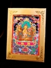 Manjushri Meditation Card Traveling Alter Frame Included