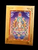 White Tara Meditation Card Traveling Alter Frame Included