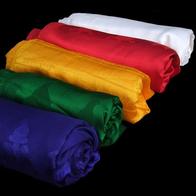 100 % Pure Silk Khata's 5 Colors to Chose From