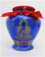 Large Medicine Buddha Treasure Vase