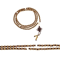 Gold Plated Copper Mala - 108 Beads