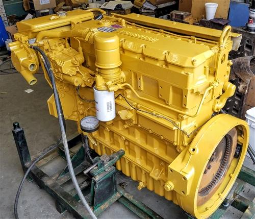 Remanufactured Caterpillar 3126 Marine Diesel engine