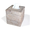 Square Tissue Box - WW  5.75x6.25'H