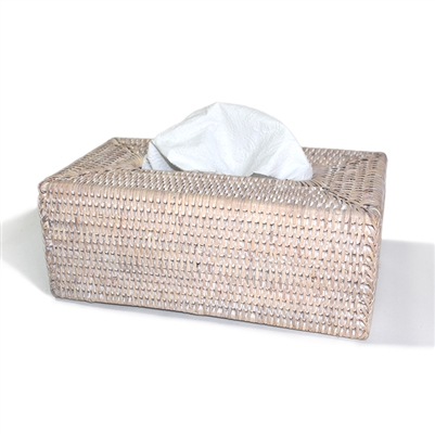 "Rectangular  Tissue Box  WW - 10.5x5.75x4.25""H .."