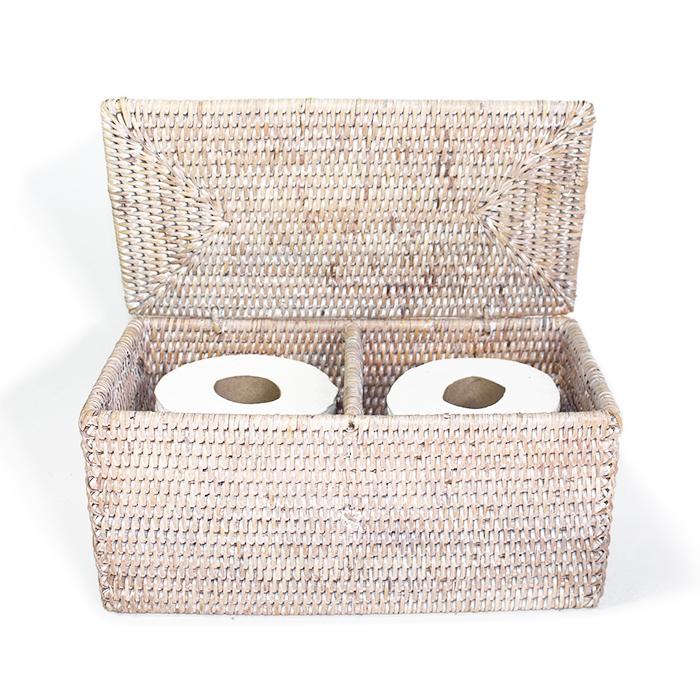 Double Toilet Paper Holder -WW 12x5.75x5.75\